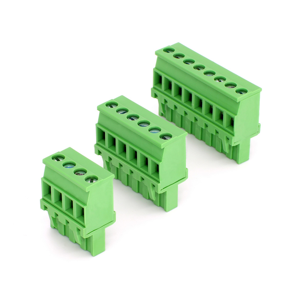 Conector de cable enchufable de 4 pines con paso de 5,08 mm | Bloque de terminales PA66